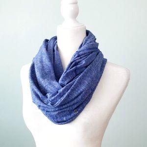 Lululemon Infinity Scarf Heathered Pigment Blue